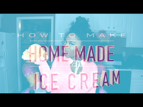 HomeMade Ice Cream | Cooking with Summerella