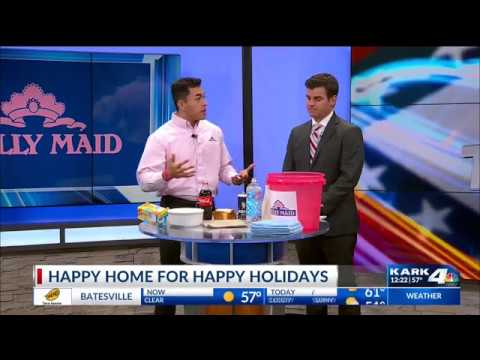 Holiday Home Cleaning Tips from Molly Maid of Greater Little Rock