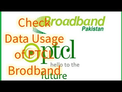 How to Check Data Usage (GB's) of PTCL Broadband on PC