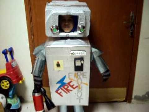 ameen as robot - fancy dress