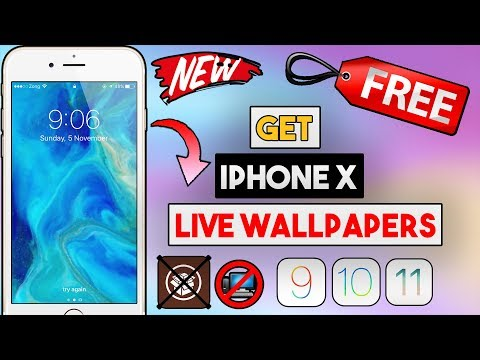 New How To Get iPhone X Exclusive Live Wallpapers Free On Older Devices (NO JB/COMP) (iPhone/iPod)