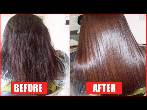 GET SILKY AND GLOSSY HAIR IN 1 DAY