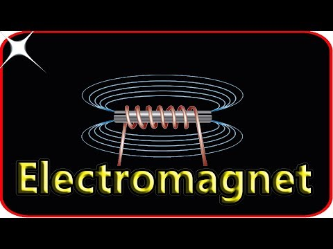 How to make an electromagnet at home with no skills in electromagnet!