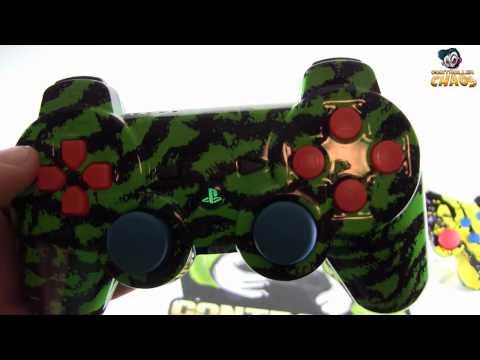 Custom Modded PS3 Controller - Master Mod - Controller Chaos