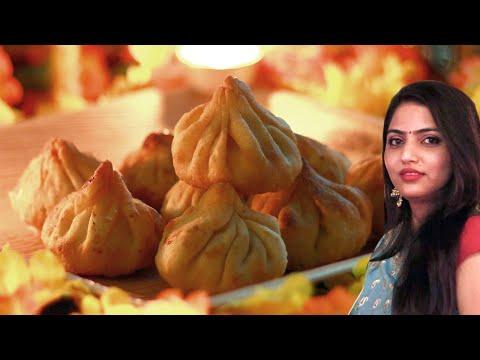 Modak recipe | Crispy fried modak | Ganpati special recipe by manisha