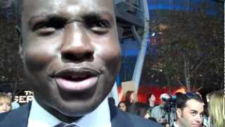 "Dayo Okeniyi at ""The Hunger Games"" world premiere"