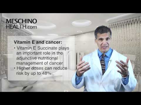Vitamin E: magical supplement for many health conditions