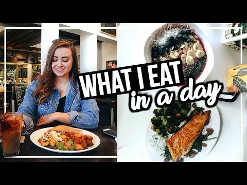 WHAT I EAT IN A DAY (Healthy Recipes!) | Morgan Yates
