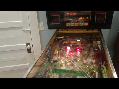 How to Cheat on a Williams Taxi Pinball Machine