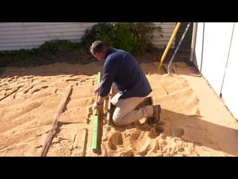 DIY Paving Guide  - Screeding Sand | Adbri Masonry