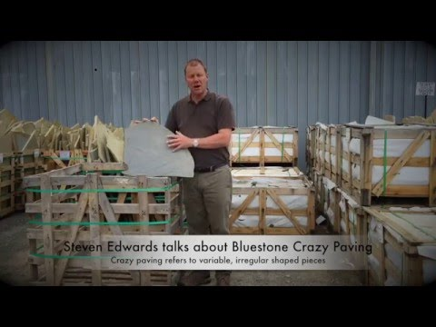 Bluestone Random Crazy Paving