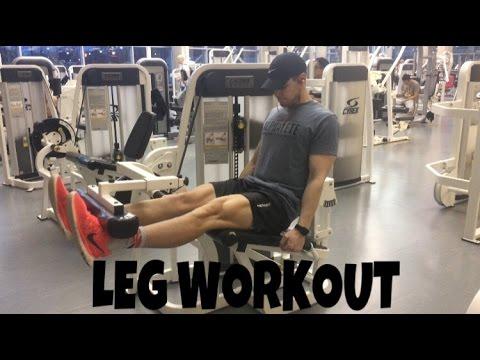 LEG WORKOUT   HOW TO GET BIGGER & STRONGER LEGS