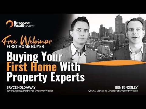 Free First Home Buyer Webinar - Buying your first home with Property Experts