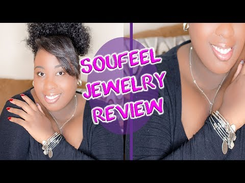 Soufeel Jewelry Review - Charm Bangles + Name Necklace!