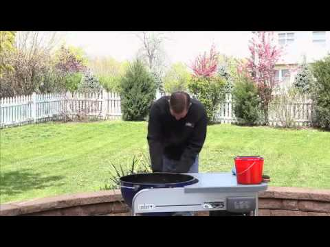 Weber Grills Charcoal Grill Cleaning
