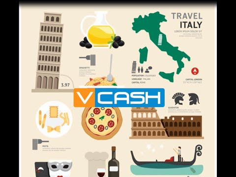 Send Money from Italy to your VCASH mobile wallet in Nigeria