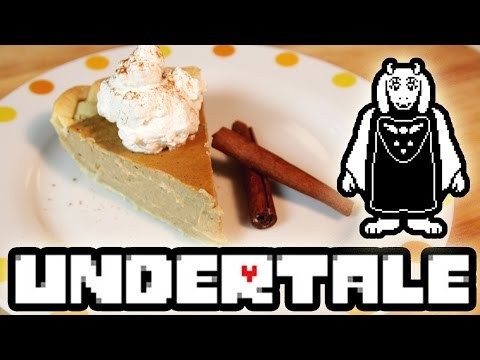 How to Make Butterscotch Cinnamon Pie from UNDERTALE! Feast of Fiction S4 Ep31