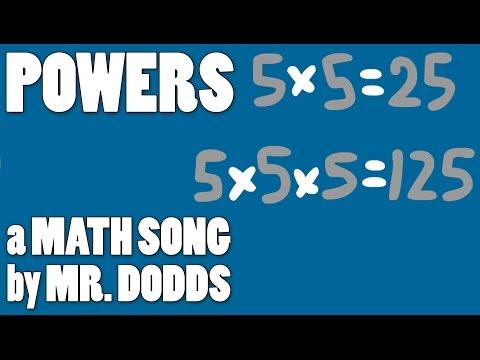 Colin Dodds - Powers (Math Song)