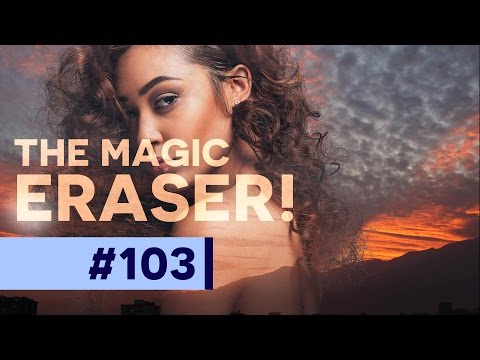 Secrets of the Magic Eraser Tool in Photoshop CC