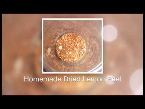 Homemade Dried Lemon Peel