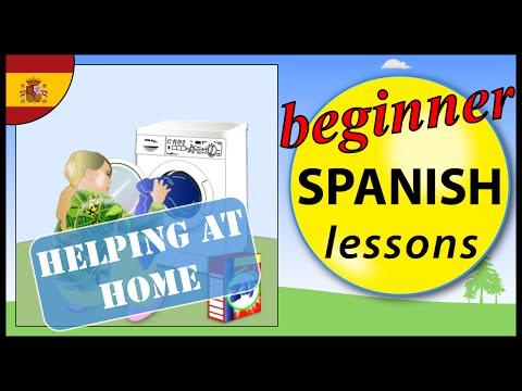 Helping at home in Spanish | Beginner Spanish Lessons for Children