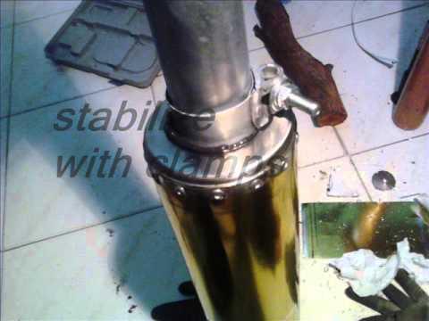 Handmade D.I.Y. Exhaust