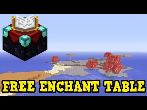 Minecraft Xbox 360 / PS3 SEED - FREE ENCHANTMENT TABLE