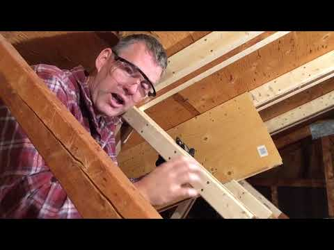 Attic Truss Repair 03: Basic Steps + Engineering Disclaimer