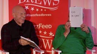 Download Sir Patrick Stewart and Sir Ian McKellen Play The Newlywed Game Video