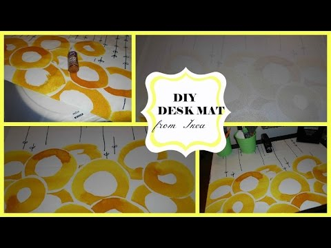 DIY Desk Mat  Simple Way to Add Spark to Your Desk