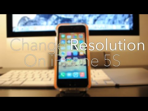How to Upscale the Resolution on the iPhone 5/5S! (Emulate iPhone 6)