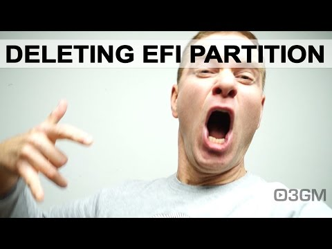 #563 - Q&A: How to delete a protected EFI disk partition?