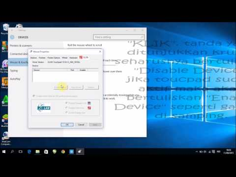 Mengatasi Touchpad Error Windows 10