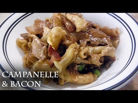 Campanelle and Bacon - recipe