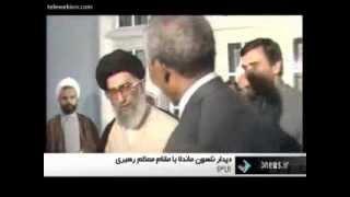 "Nelson Mandela calls Ayatollah Khamenei as ""My Leader"""