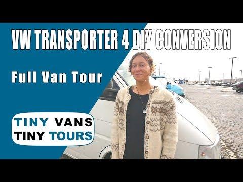 Solo Female Traveler in a DIY VW Transporter 4