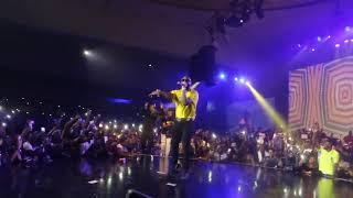No more fight Wizkid & Davido performed together   WIZKID THE CONCERT