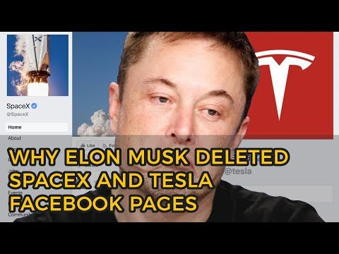 Why Elon Musk Deleted SpaceX and Tesla Facebook Pages | Find Out How