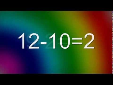 Math Kindergarten, 1st grade, 2nd grade. Subtraction.