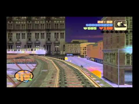 Grand Theft Auto 3 - Mind the Trains