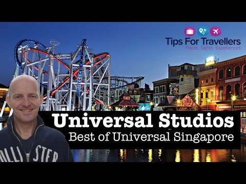 Universal Studios Singapore - Tour of the best rides and attractions