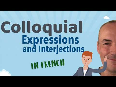 Colloquial expressions in French