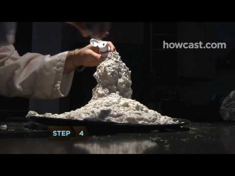 How to Build an Erupting Volcano