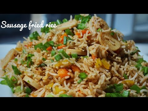 HOW TO MAKE SIMPLE SAUSAGE FRIED RICE