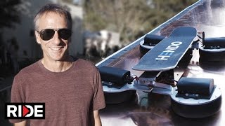 Tony Hawk Hoverboard 2.0 -  Back To The Future Day