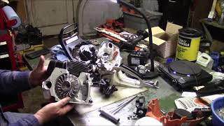 Husqvarna 576xp Crank Case Bearing Replacement  A REPOST