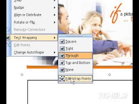 Microsoft Office Publisher 2003 Add or delete adjust handles for a picture