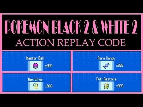 <b>Pokemon Black 2</b> and White <b>2</b> - x999 Master Ball Action Replay <b>Code</b> ...