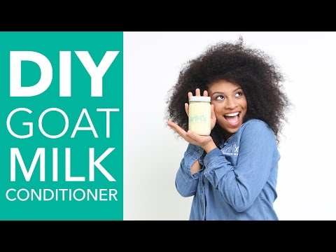HOW TO: DIY Goat Milk Conditioner with Cocoa Butter