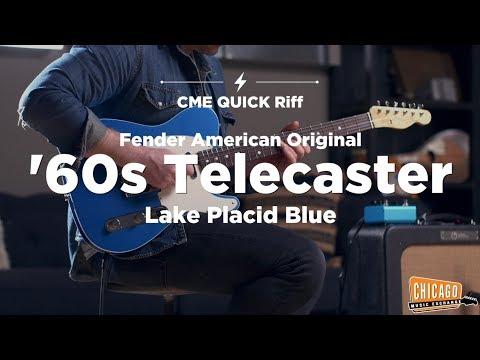 BRAND NEW Fender American Original '60s Telecaster | CME Quick Riff